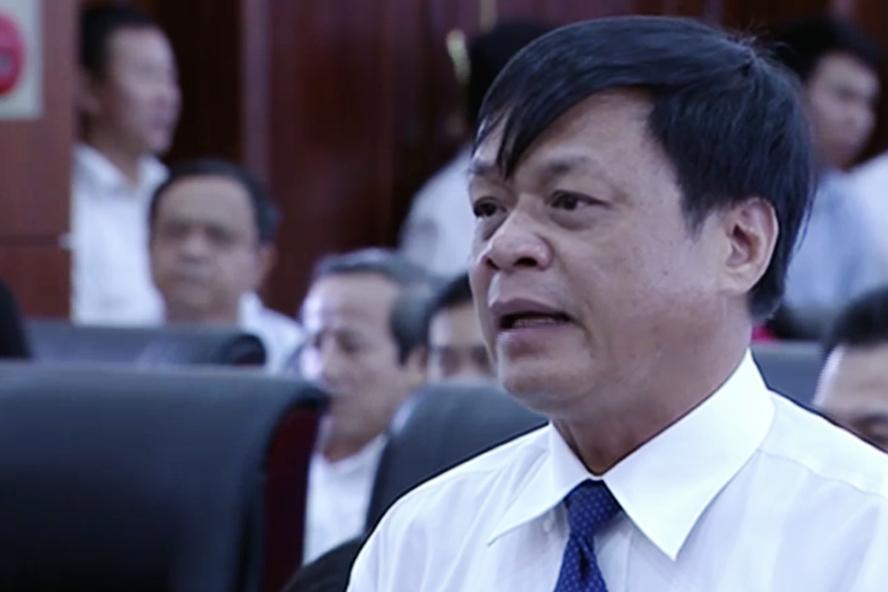 Ông Võ Ngọc Đồng - Giám đốc Sở Nội vụ Đà Nẵng thông tin về chính sách hỗ trợ mới của thành phố nhằm khuyến khích cán bộ, lãnh đạo tự nguyện nghỉ việc.