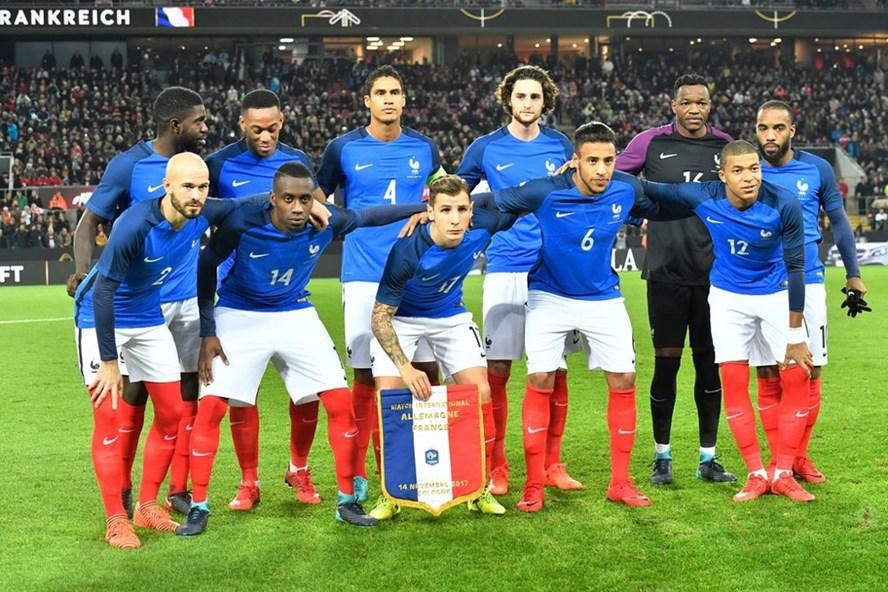 Đội tuyển Pháp.