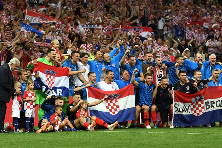 Croatia đang đứng trước cơ hội lần đầu vô địch World Cup. Ảnh: FIFA
