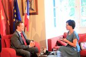 """Trước trận kịch tính Pháp-Croatia: Đại sứ Pháp đánh giá sức mạnh đối thủ """"đáng gờm"""""""