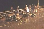 Hải Phòng: Hai xe máy đấu đầu, 4 người thương vong
