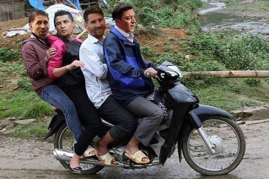 Sau Ozil, Messi, Ronaldo, Ramos, nhiều người đặt câu hỏi liệu chuyến xe này có đón thêm siêu sao Neymar sau trận thư hùng Brazil - Mexico nối nay?