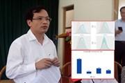 """Gian lận điểm thi ở Sơn La, Hà Giang: Những lời đầy """"ngậm ngùi"""" của Cục trưởng Mai Văn Trinh"""