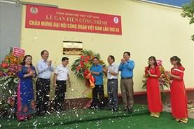 Quản lý, sử dụng tốt để Nhà máy sợi Hòa Xá xứng đáng là Công trình chào mừng Đại hội XII Công đoàn VN
