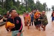 Vỡ đập thủy điện ở Lào: Tìm thấy 19 thi thể, số làng ngập nước tăng thêm