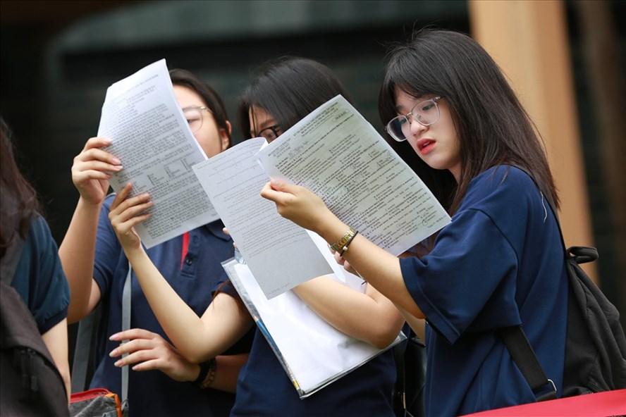 Điểm thi THPT quốc gia 2018 sẽ được công bố vào ngày 11.7. Ảnh: Hải Nguyễn.