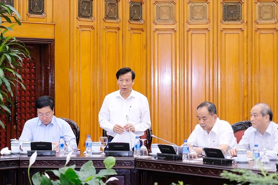 Bộ trưởng Văn hóa, Thể thao và Du lịch Nguyễn Ngọc Thiện. Ảnh: VGP.