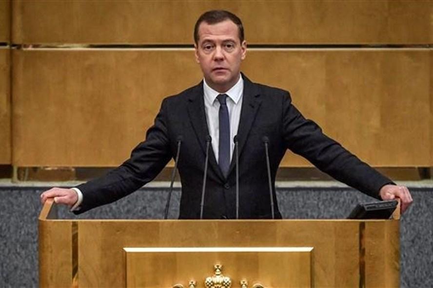 Thủ tướng Nga Dmitry Medvedev. Ảnh: PT.