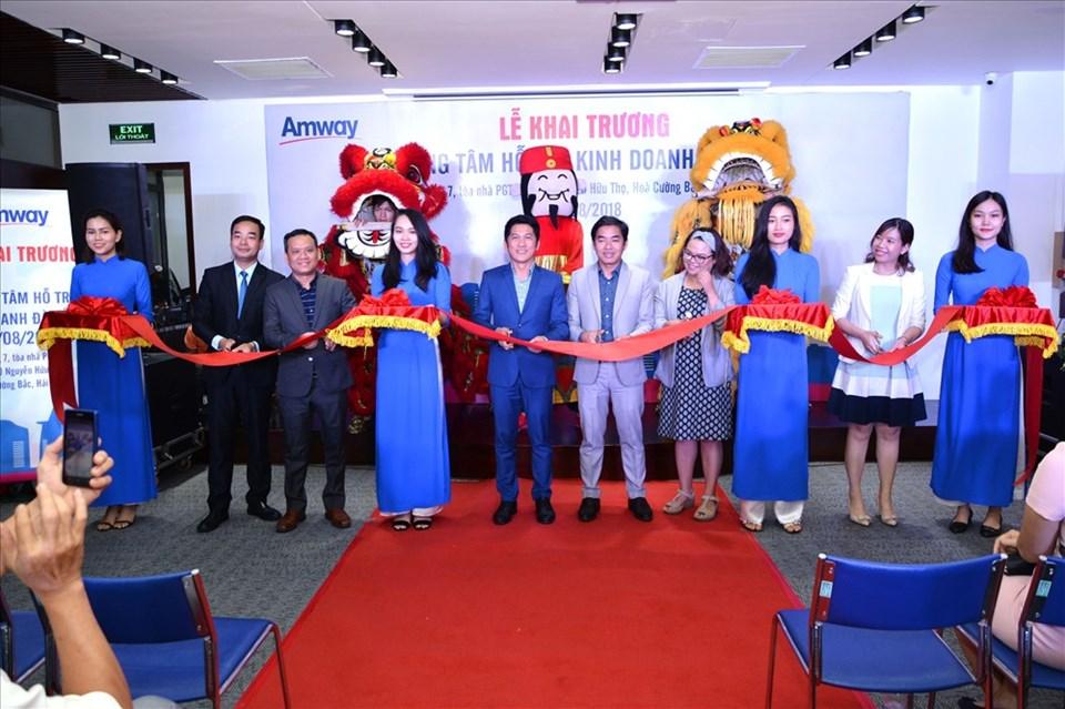 Trung tâm hỗ trợ kinh doanh mới của Amway Việt Nam tọa lạc tại 220 Nguyễn Hữu Thọ, Hòa Cường Bắc, Tp. Đà Nẵng.