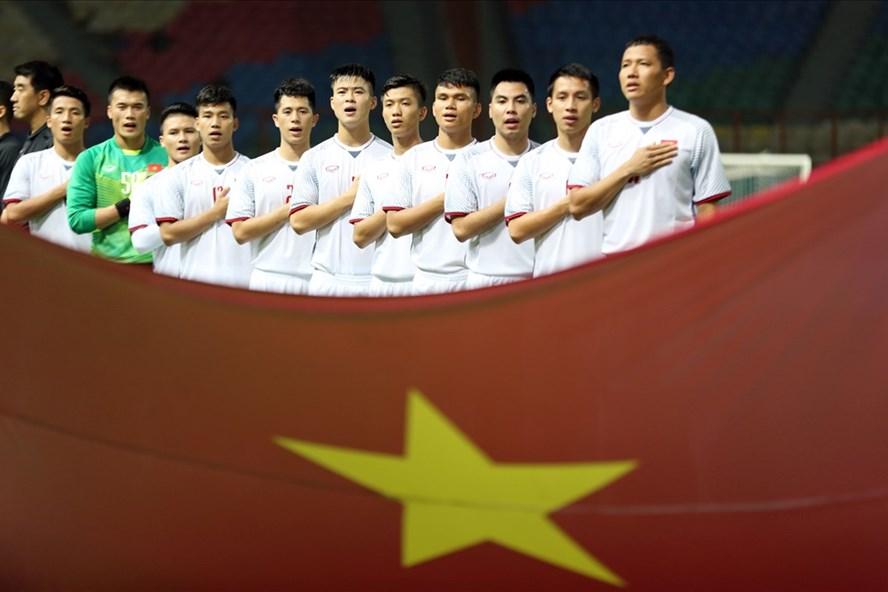U23 Việt Nam đã giành vé vào vòng 1/8 ASIAD 18. Ảnh: Đ.Đ