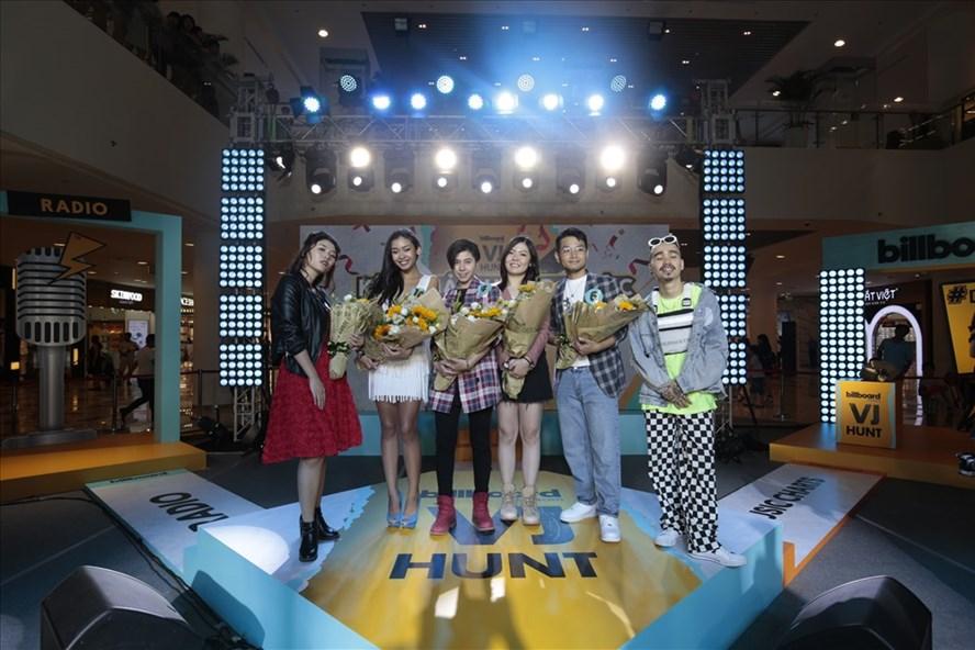 6 gương mặt trẻ lọt vào vòng trong của cuộc thi tìm kiếm VJ cho Billboard Việt Nam, trong đó có nam ca sĩ Phạm Hồng Phước