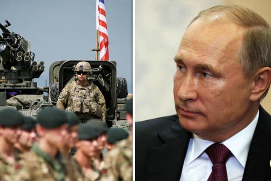 Hàng nghìn binh sĩ NATO tập trận ở Gruzia, sát cửa ngõ Nga. Ảnh: Express