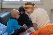 Đệ nhất phu nhân Syria Asma Al-Assad lần đầu lộ diện sau tin ung thư vú