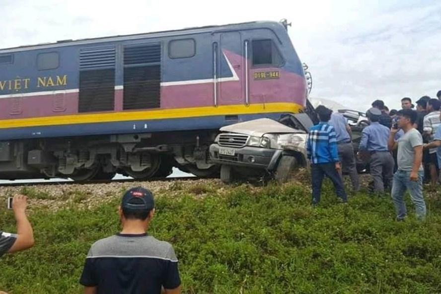 Hiện trường vụ tai nạn sáng 25.8. Ảnh: CTV
