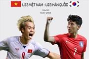 Infographic U23 Việt Nam vs U23 Hàn Quốc: So sánh thực lực hai kỳ phùng địch thủ qua con số