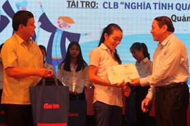 """Quảng Trị: """"Tiếp sức đến trường"""" cho 147 tân sinh viên có hoàn cảnh khó khăn"""