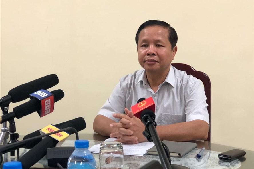 Giám đốc Sở GDĐT tỉnh Hoà Bình nhận trách nhiệm khi để xảy ra vụ việc gian lận thi cử ở địa phương.