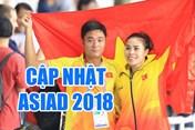 """Cập nhật mới nhất ASIAD 2018 tối 30.8: Sau ngày """"bội thu"""", Việt Nam chỉ giành 2 HCĐ và tiếp tục tụt hạng"""