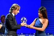 Luka Modric giành cú đúp giải thưởng của UEFA