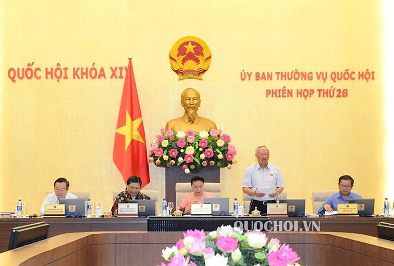 Phó Chủ tịch Quốc hội Uông Chu Lưu. Ảnh Q.H