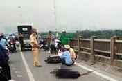 Tin tức tai nạn giao thông nóng nhất 24h: Chạy xe máy trên cao tốc Pháp Vân - Cầu Giẽ, thanh niên tử vong