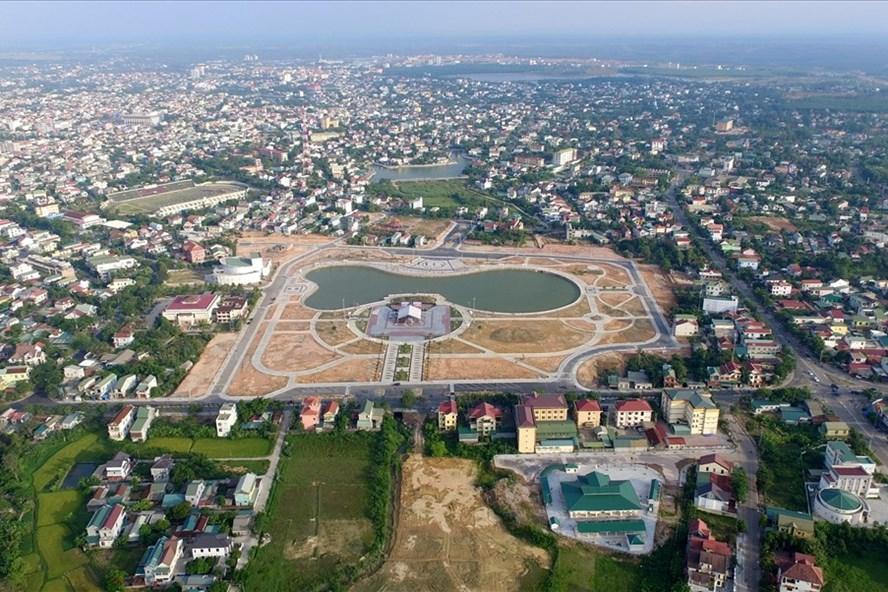 Công viên Fidel ở giữa khu dân cư nhìn từ trên cao. Ảnh: NT.