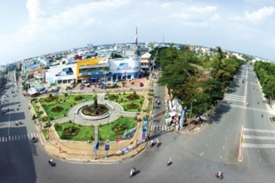 Thành phố Cà Mau. Ảnh: Khánh Phương/baocamau.com.vn