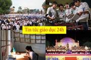 Tin tức giáo dục 24h: Hải Phòng chi gần 1 tỷ thưởng HS-SV tiêu biểu; Hàng nghìn người đội mưa cổ vũ nam sinh Quảng Ninh