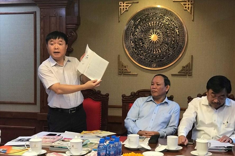 Tại buổi gặp gỡ báo chí 21.9, NXBGDVN khẳng định đơn vị này đang lỗ 40 tỉ mỗi năm vì SGK