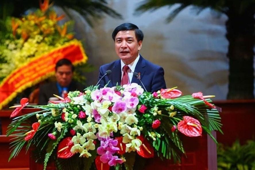 Đồng chí Bùi Văn Cường - Ủy viên Trung ương Đảng, Chủ tịch Tổng LĐLĐVN khóa XI. Ảnh: Hải Nguyễn.
