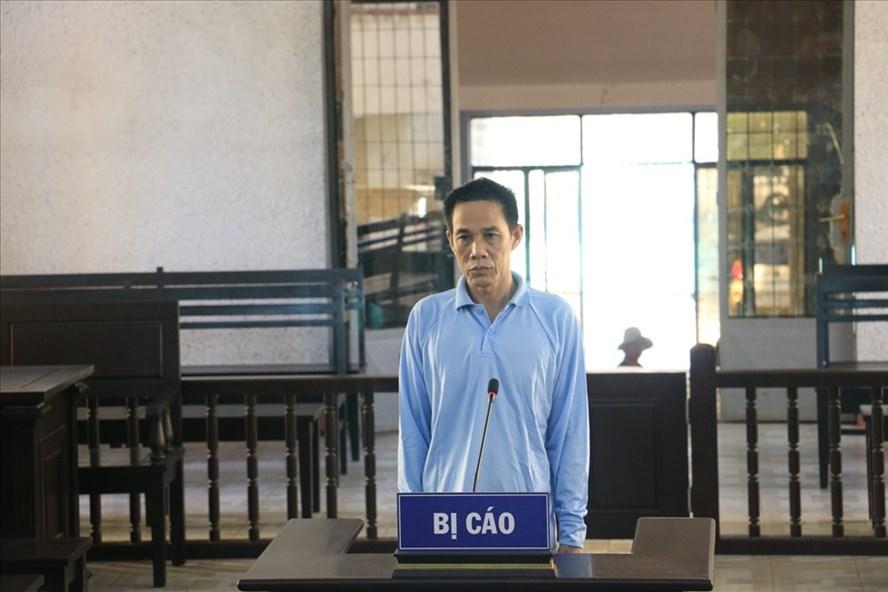 Bị cáo Sinh tại phiên tòa xét xử.