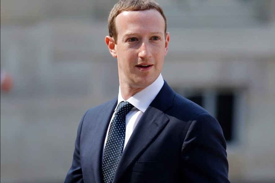 CEO Facebook - Mark Zuckerberg. Ảnh: AP.