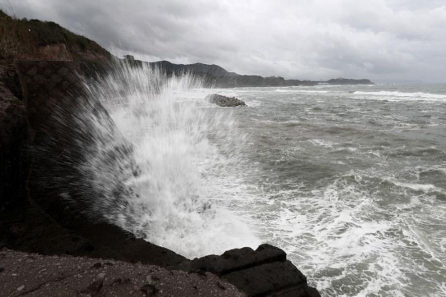 Bão Trami sắp đổ bộ phía tây Nhật Bản. Ảnh: AFP.