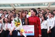 Chủ tịch Quốc hội Nguyễn Thị Kim Ngân: Sinh viên phải am hiểu pháp luật