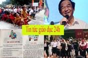 Tin tức giáo dục 24h: Thêm nhiều tranh cãi về sách công nghệ giáo dục; GS Hồ Ngọc Đại lên tiếng