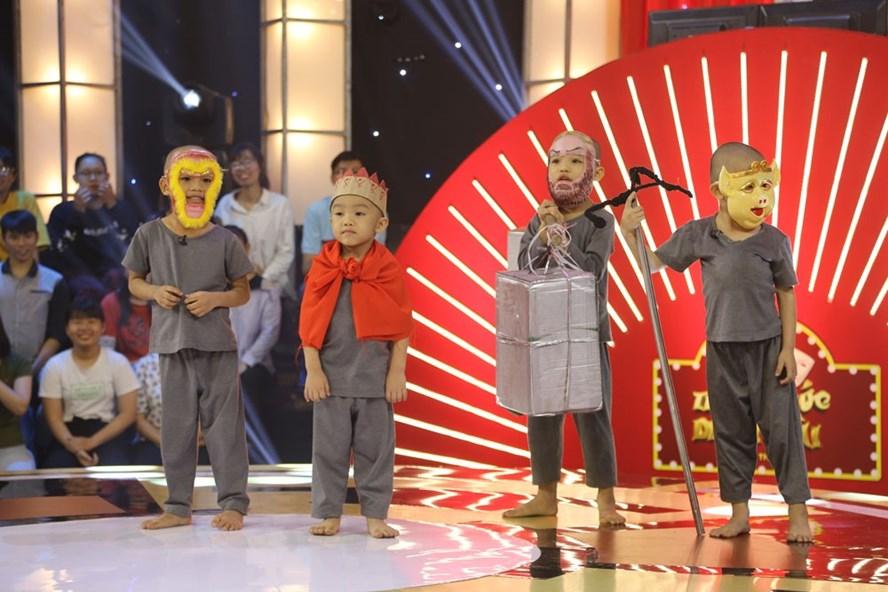 5 chú tiểu nhóm Bồng Lai.