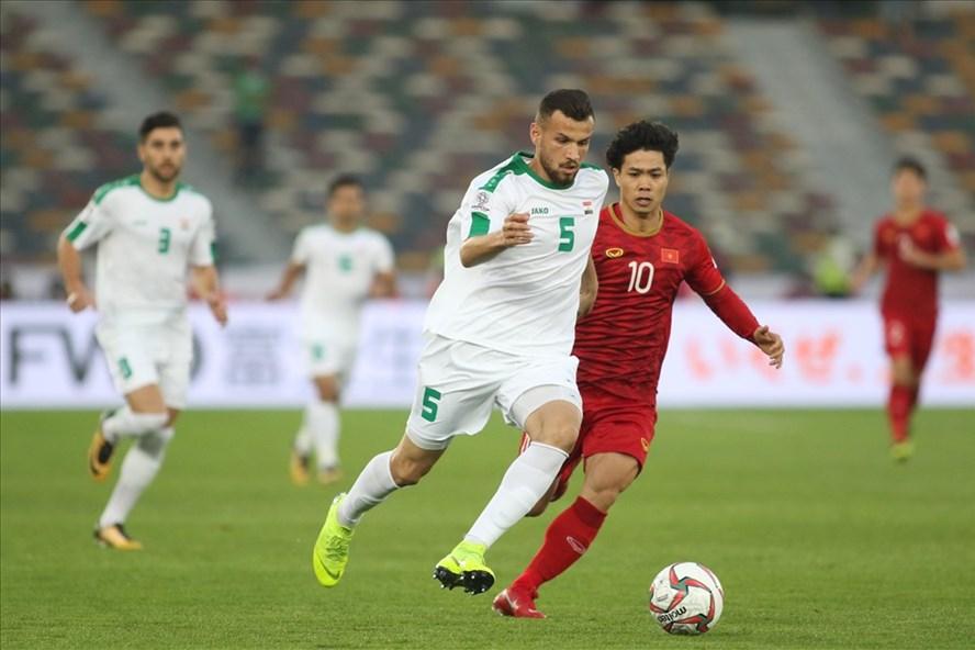 Đội tuyển Việt Nam cần thi đấu tốt ở trận gặp Iran.