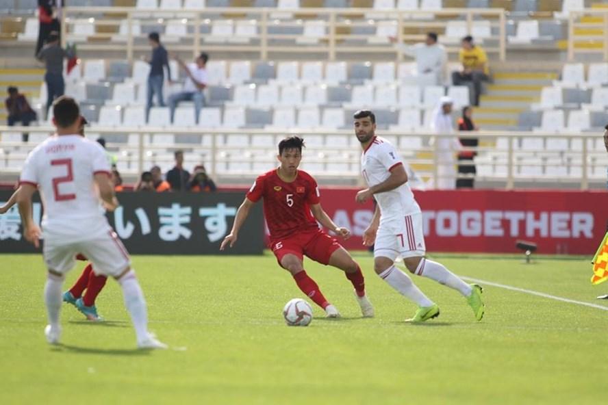 Các cầu thủ Việt Nam đã thi đấu rất nỗ lực.