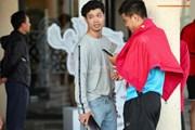 Các tuyển thủ Việt Nam giản dị dạo phố UAE trong ngày nghỉ xả hơi
