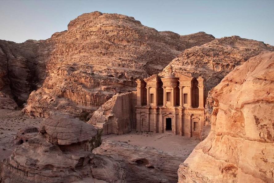 Một địa điểm ở thành phố cổ Petra của Jordan. Ảnh: Alamy.