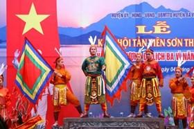 Lễ hội Tản Viên Sơn Thánh sẽ được mở rộng như hội chùa Hương