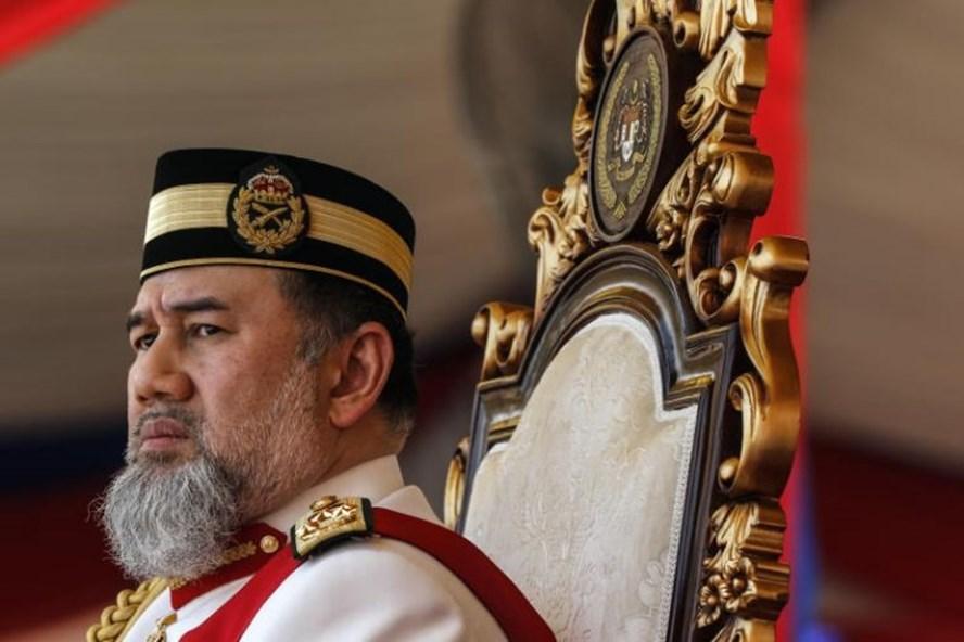 Quốc vương Malaysia thoái vị hôm 6.1. Ảnh: EPA.
