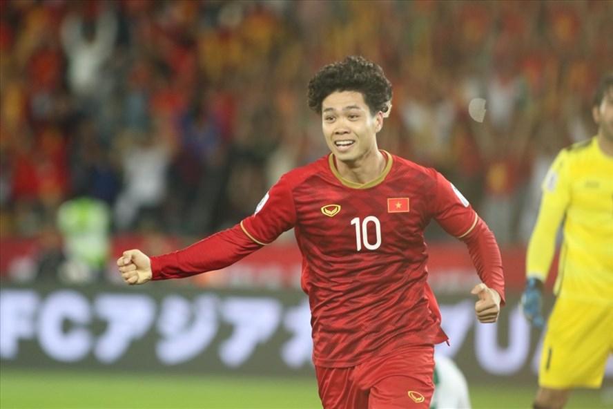 Công Phượng đã có màn trình diễn vô cùng ấn tượng trước đối thủ Iraq ở trận ra quân VCK Asian Cup 2019. Ảnh: Hữu Phạm