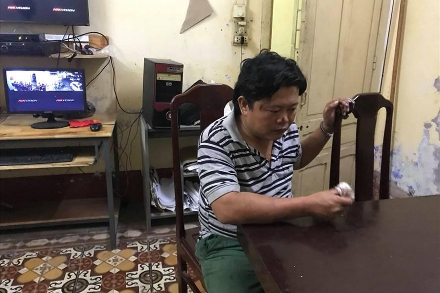 Đối tượng Hồ Vinh Minh Quang. Ảnh: CA cung cấp.