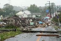 Hình ảnh những thiệt hại tan hoang ở Nhật Bản trong siêu bão Hagibis