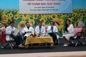 Truyền thông về chăm sóc sức khoẻ sinh sản cho 1.500 nữ cán bộ, đoàn viên