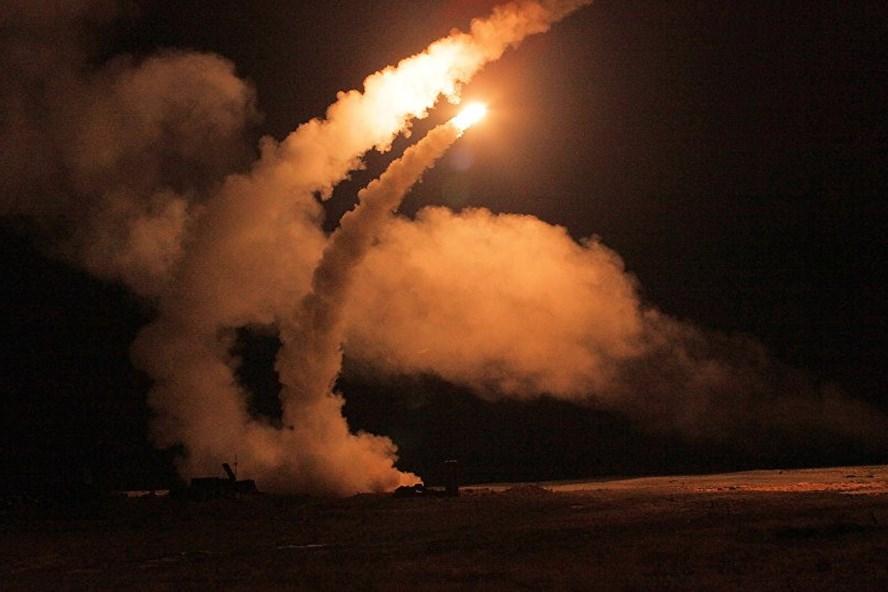 Nga thử thành công tên lửa S-500 ở Syria. Ảnh: Sputnik.