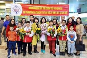 Câu chuyện của học sinh Việt Nam sau tấm huy chương vàng quốc tế