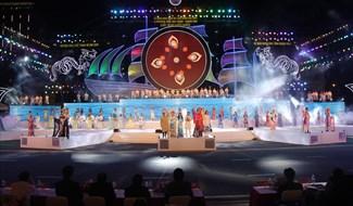 Lễ khai mạc Năm Du lịch Quốc gia năm 2019 tại Khánh Hòa. Ảnh: PV