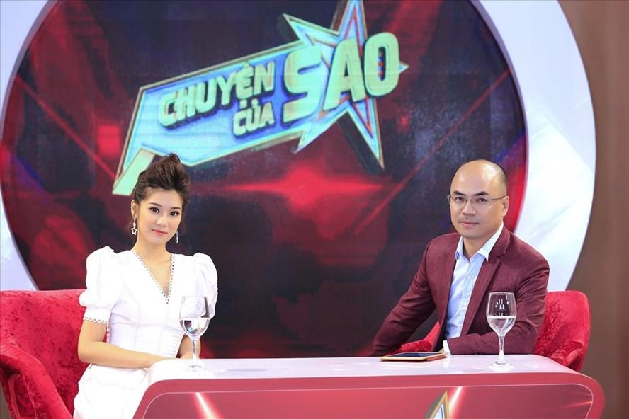 Hoàng Yến Chibi và MC Minh Đức.